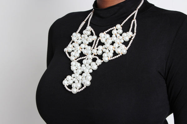 Ore Pearl Necklace - Graced London - 1