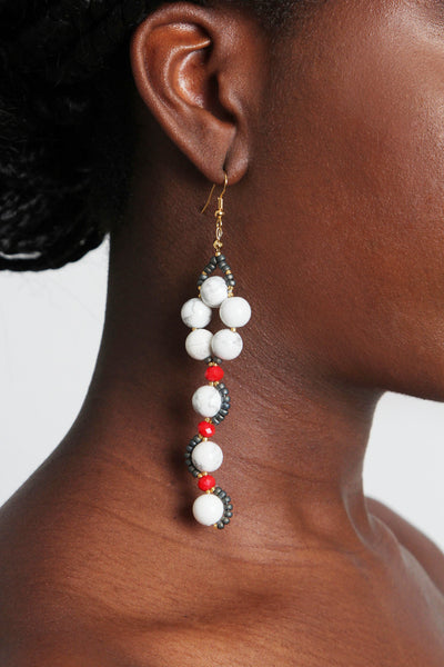 Geo Urban Earring - Graced London - 2