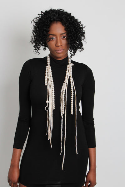 Pearl Strands Necklace - Graced London - 1