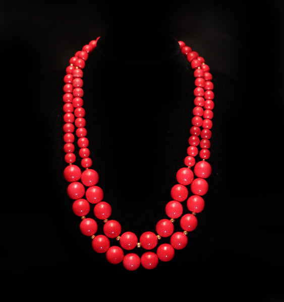 Two Layered Necklace - Graced London - 1