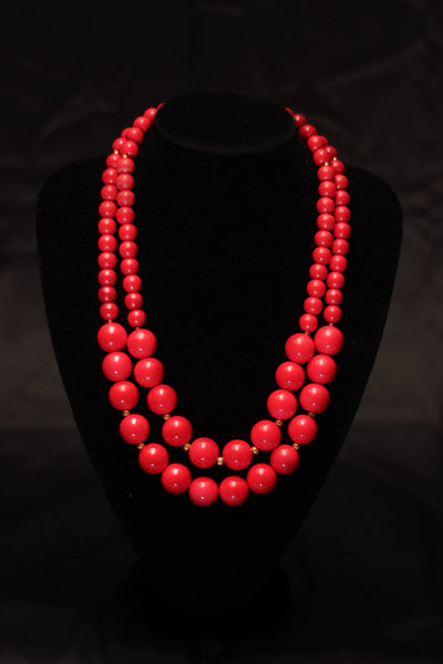 Two Layered Necklace - Graced London - 2