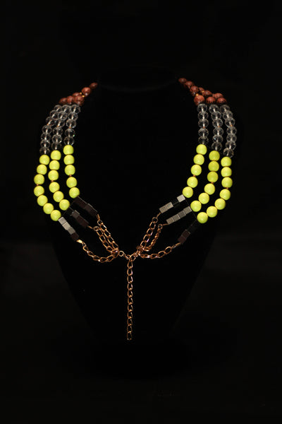 Bimpe Layered Necklace - Graced London - 1