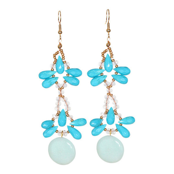 Ore Pry turquoise earring - Graced London