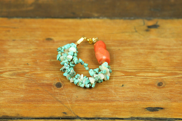 Cey Coral Twist Bracelet - Graced London - 1