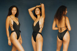 Caracas One-Piece Swimsuit - Black