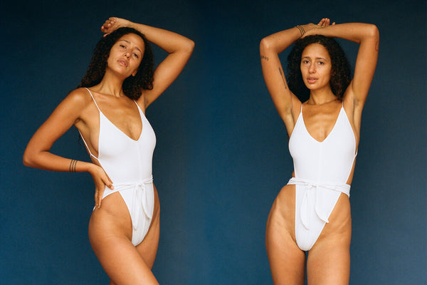 Caracas One-Piece Swimsuit - White