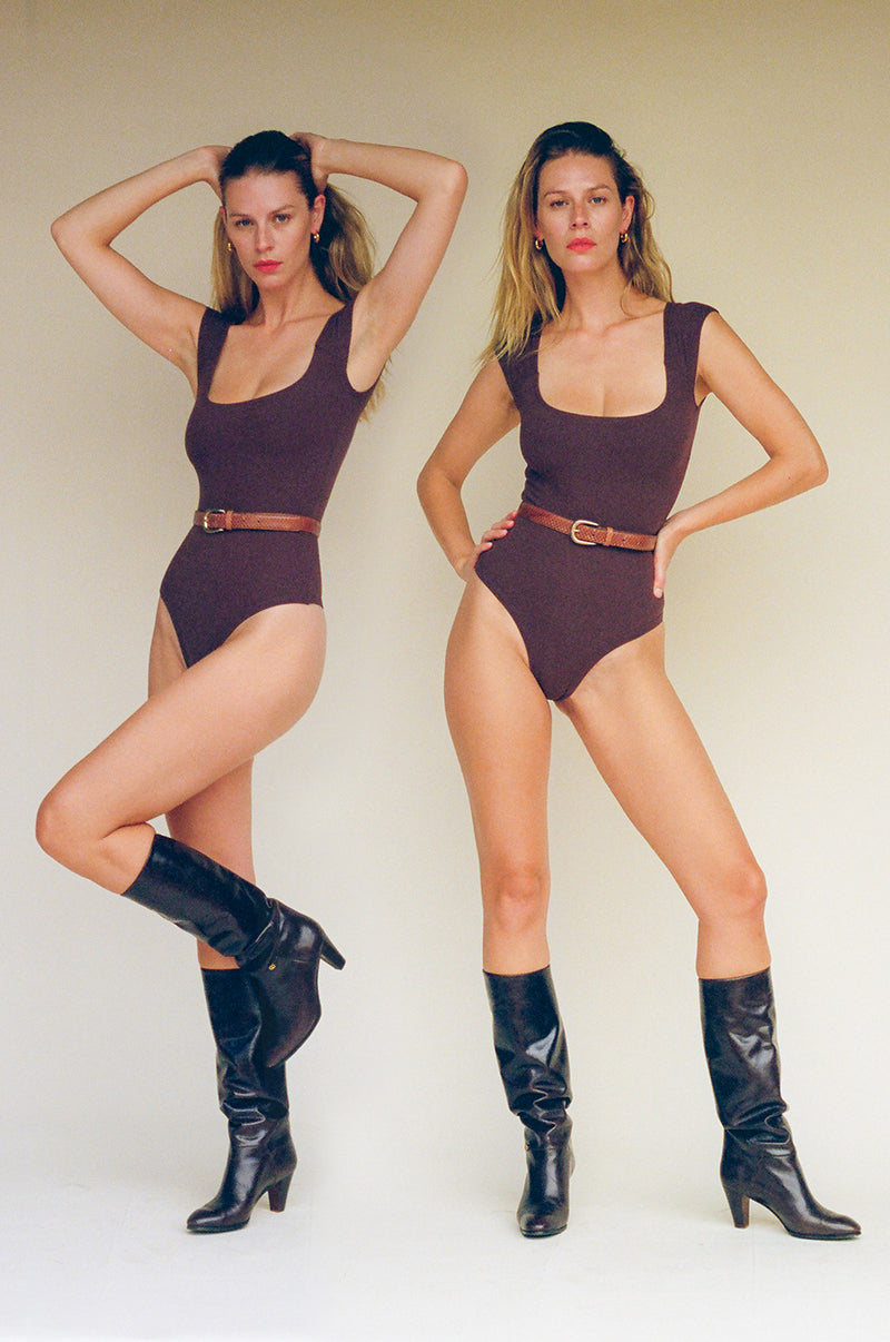 El Tigre Bodysuit - Chocolate