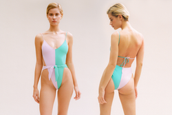 Caracas One-Piece Swimsuit - Orchid/Carribean
