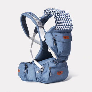 Sunve Baby Carrier with Hip Seat 6 in 1 for Newborn and Toddler