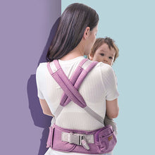 Load image into Gallery viewer, baby carrier, ergonomic baby carrier with hipseat, sunve