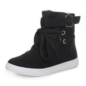 Women Boots Casual Canvas Shoes