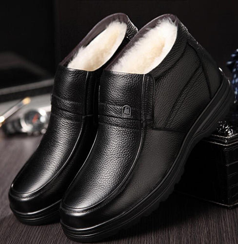 men Non-slip cotton Shoes boot