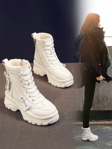Short Shoes Women Casual Boots
