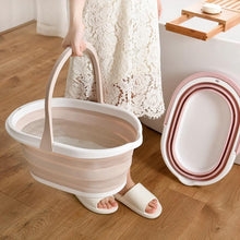Load image into Gallery viewer, Portable Foldable Bucket Solid Basin