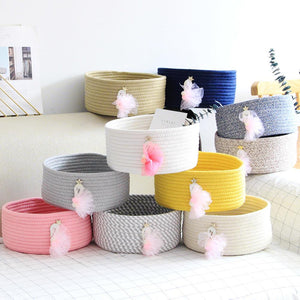 Cotton Rope Stationery Holder Desktop