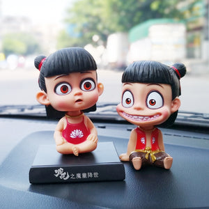 Head Dolls Car Accessories