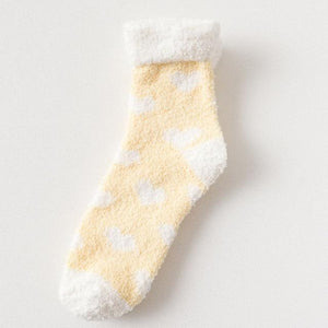 Candy Warm Lady Heart Socks