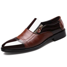 Load image into Gallery viewer, Leather Shoes Men
