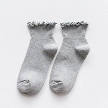 Load image into Gallery viewer, Lace Ruffles Women Socks