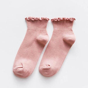 Lace Ruffles Women Socks