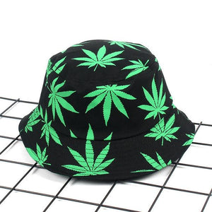 Leaf Panama Bucket Hat