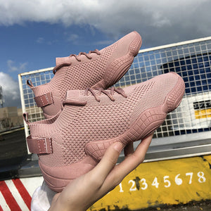 Breathable Running Shoes Pink