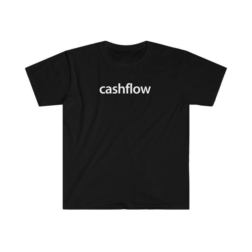 Real Estate T-shirt Cashflow | Men's Fitted Short Sleeve Tee