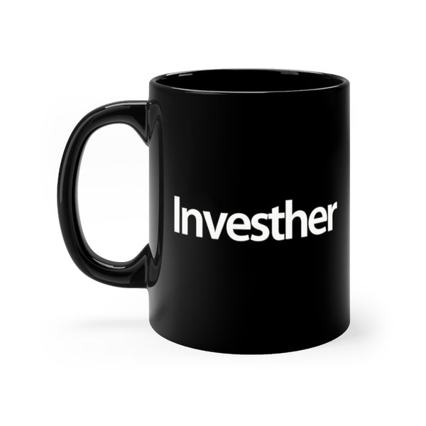 Investher Mug | Black Coffee Mug for the Investor