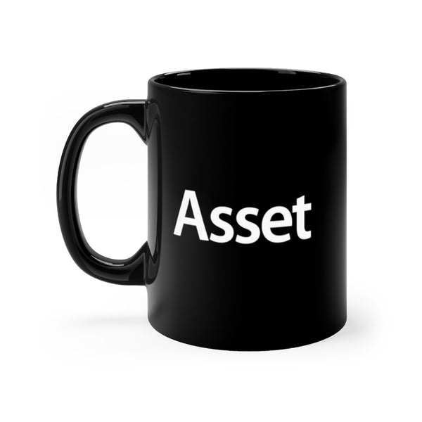 Realtor Asset Mug | Black Coffee Mug for the Real Estate Agent