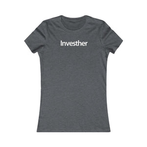 Women Real Estate T-Shirt | Investher - Fitted Tee in 3 Colors