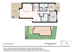 2D Color Floor Plans (Type 1)