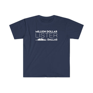 Real Estate T-shirt Million Dollar Lister | Men's Fitted Short Sleeve Tee
