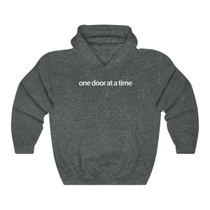 Men's Real Estate Hoodie I One Door at a Time | 3 Colors