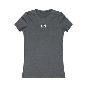 Women Real Estate T-Shirt | REI - Fitted Tee in 3 Colors