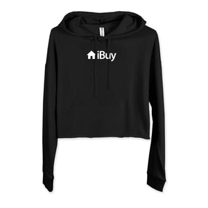 iBuy Real Estate Crop Hoodie