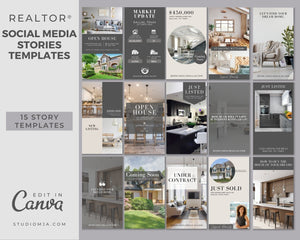 Instagram Story Templates | Real Estate Social Media Template