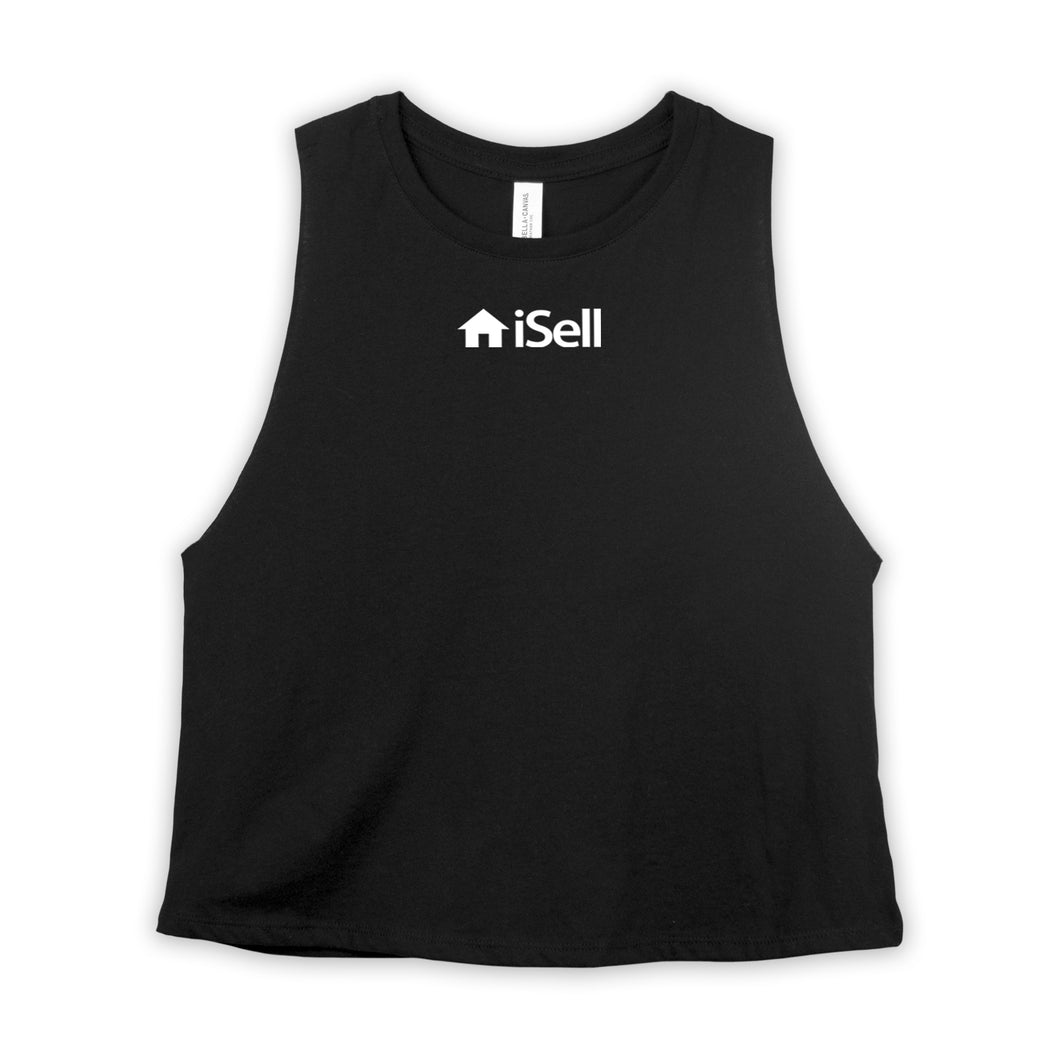 Realtor Women Clothing iSell Crop Tank Top