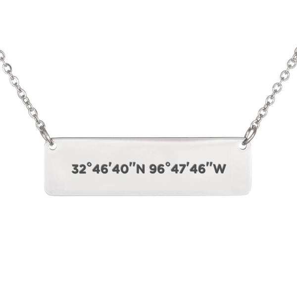 GPS Coordinate Personalized Jewelry