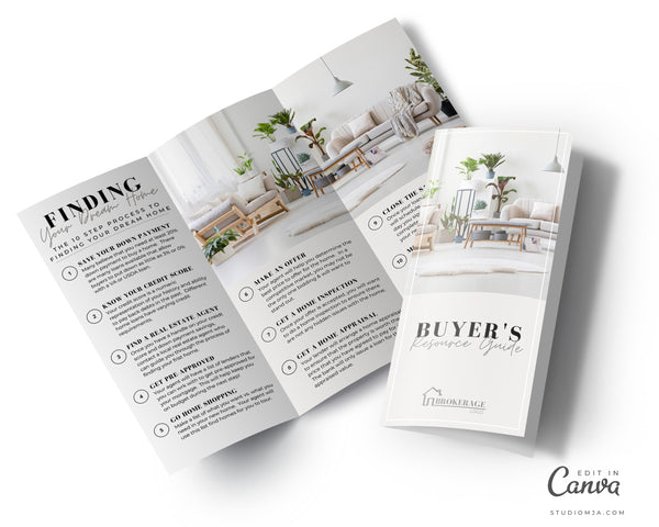 Real Estate Buyer Guide Brochure | Real Estate Template