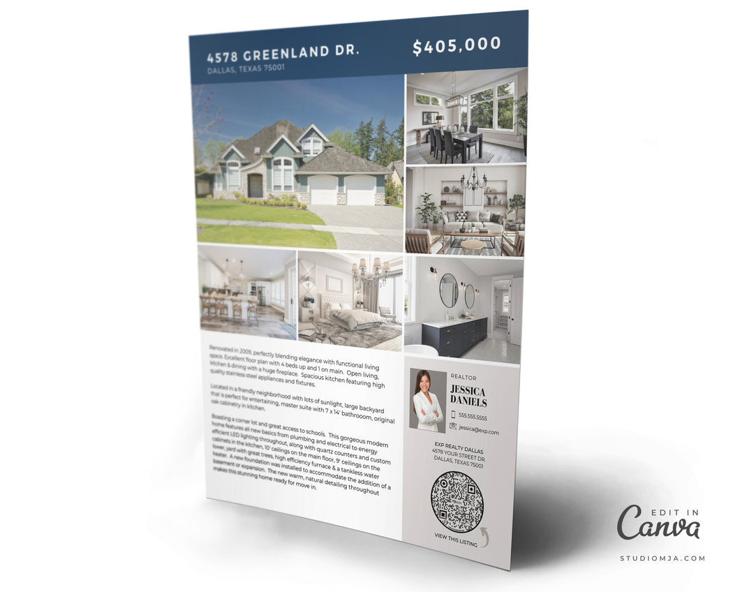 Chiswell | Real Estate Flyer Template