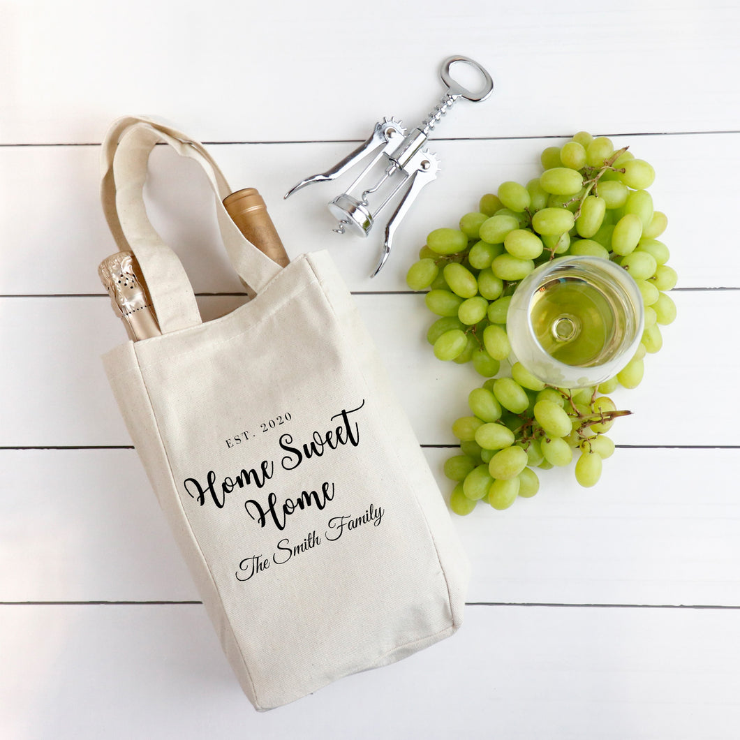 Wine Tote Closing Gift For Realtor