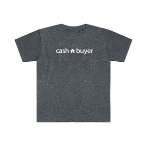 Real Estate T-shirt Cash Buyer | Men's Fitted Short Sleeve Tee