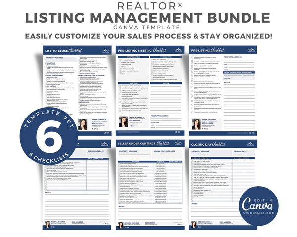Listing Management Checklist Bundle
