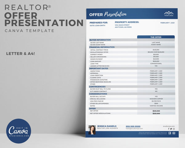 Offer Presentation | Real Estate Template