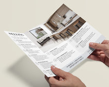 Load image into Gallery viewer, Real Estate Tri-Fold Brochure - Custom