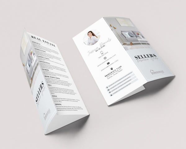 Real Estate Tri-Fold Brochure - Custom