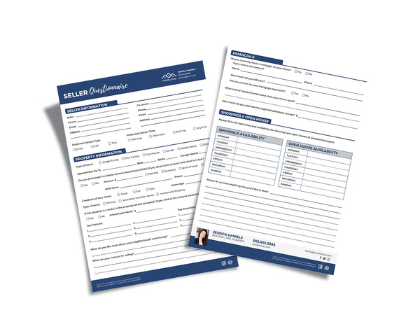 Real Estate Form - Custom