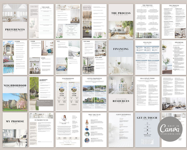 Buyer and Seller Guide Set | Real Estate Template