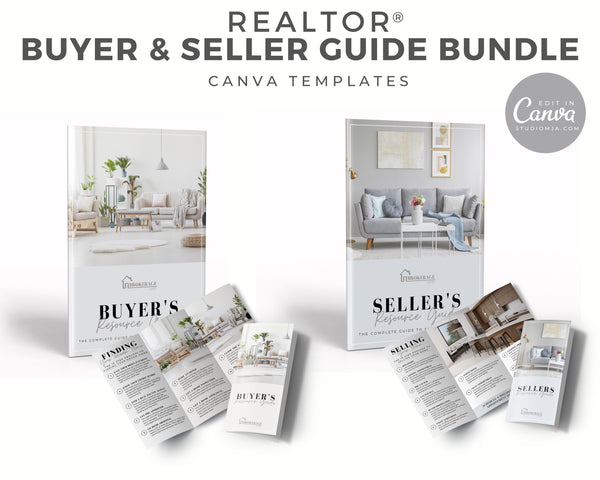 Buyer and Seller Guide BUNDLE | Real Estate Template