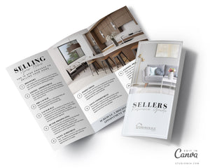 Real Estate Buyer and Seller Guide Brochure BUNDLE | Real Estate Template